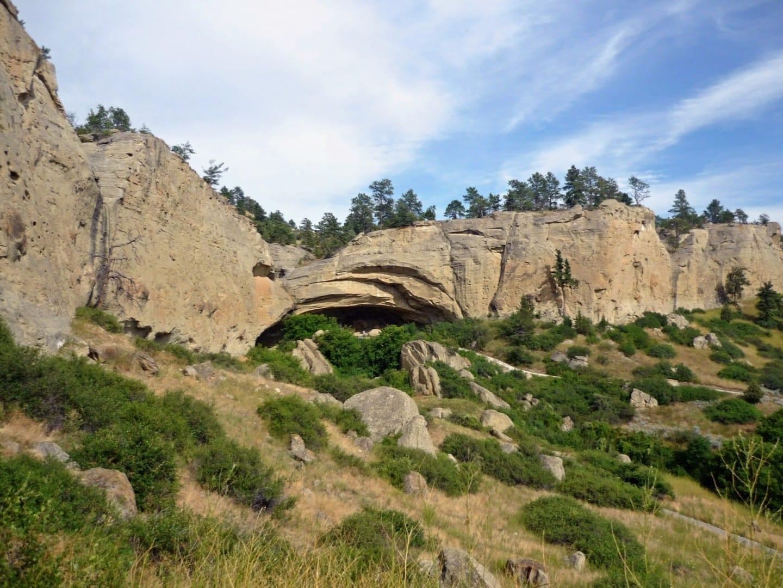 Cueva de Pictografías Billings Estados Unidos