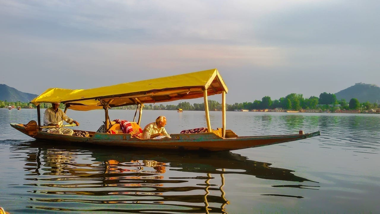 Dal Lago Srinagar India