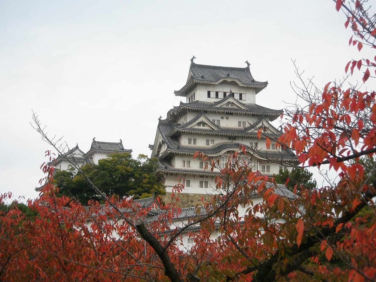 De Viaje Himeji Castillo Japón
