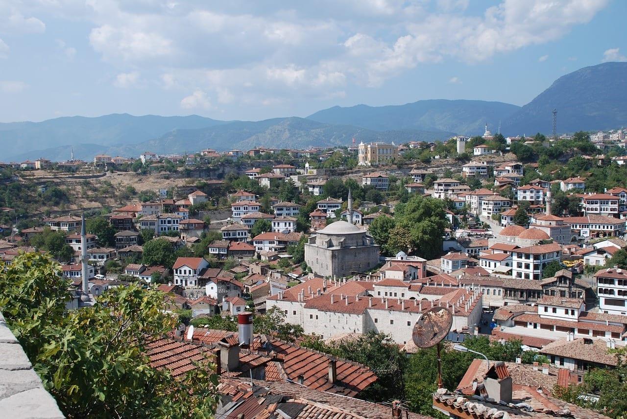 De Viaje Safranbolu Casas Vista Panorámica De Safranbolu Turquía