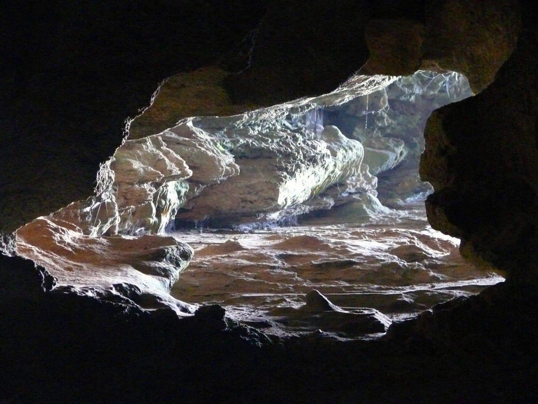 Dentro de las Cuevas de Hércules Tánger Marruecos