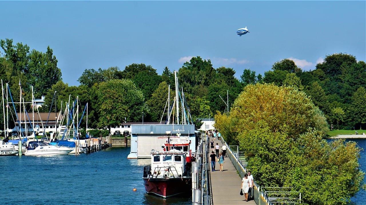 Dirigible Zepelín Friedrichshafen Alemania