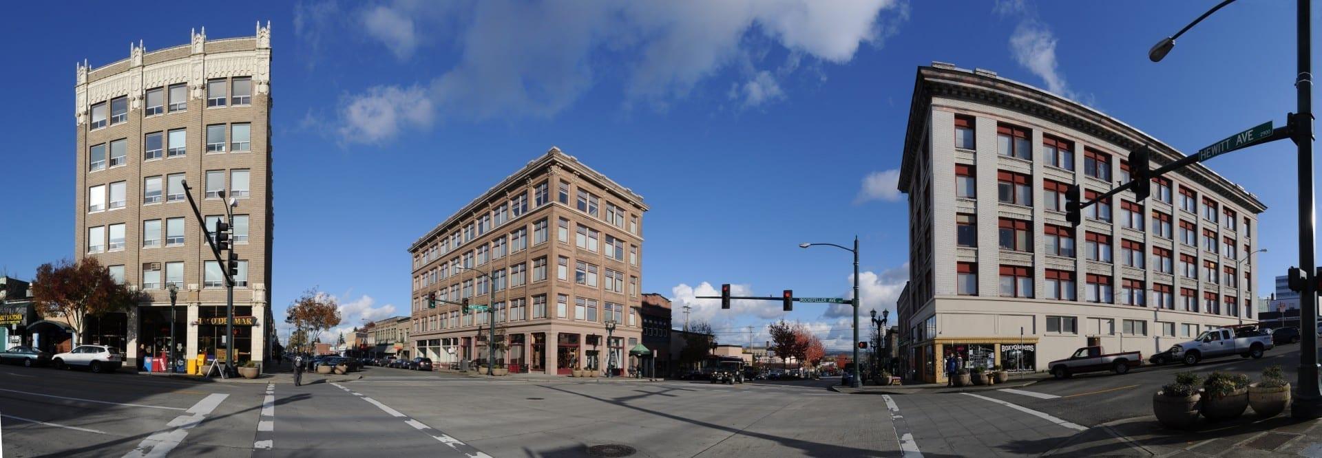 Distrito Histórico de la Avenida Hewitt Everett WA Estados Unidos