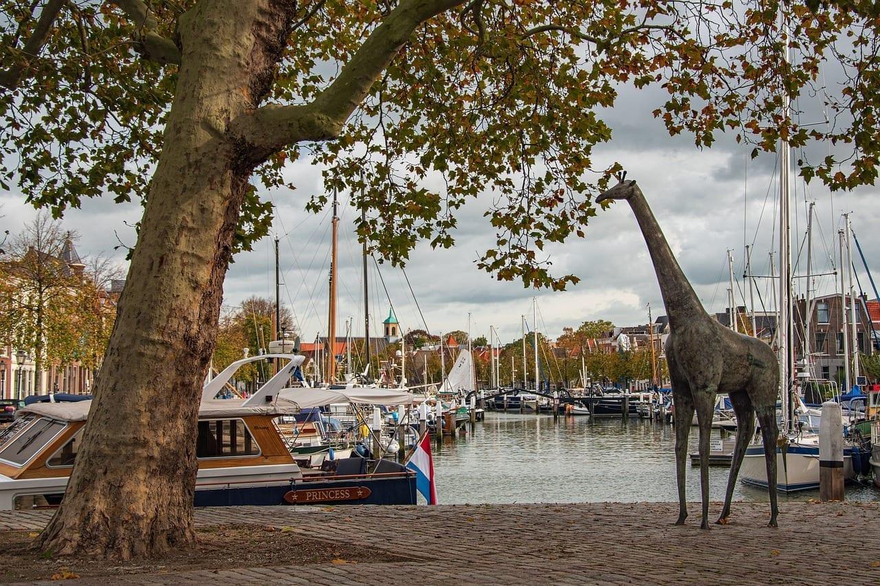 Dordrecht Países Bajos Puerto Países Bajos