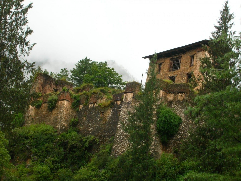 Drukgyel Dzong Paro Bután