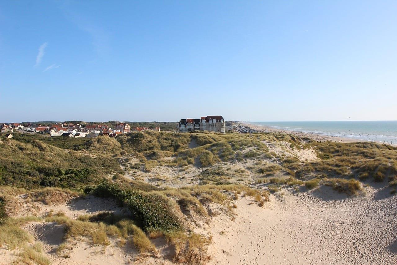 Dunas La Costa De ópalo Pas De Calais Francia