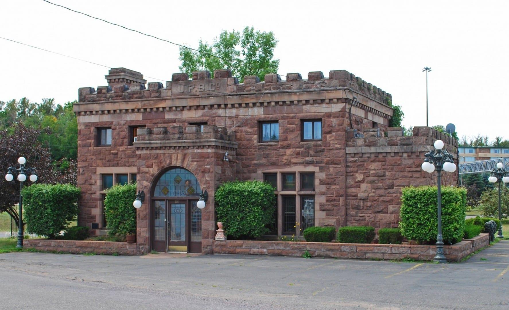 Edificio de la Compañía Cervecera de la Península Superior Marquette MI Estados Unidos