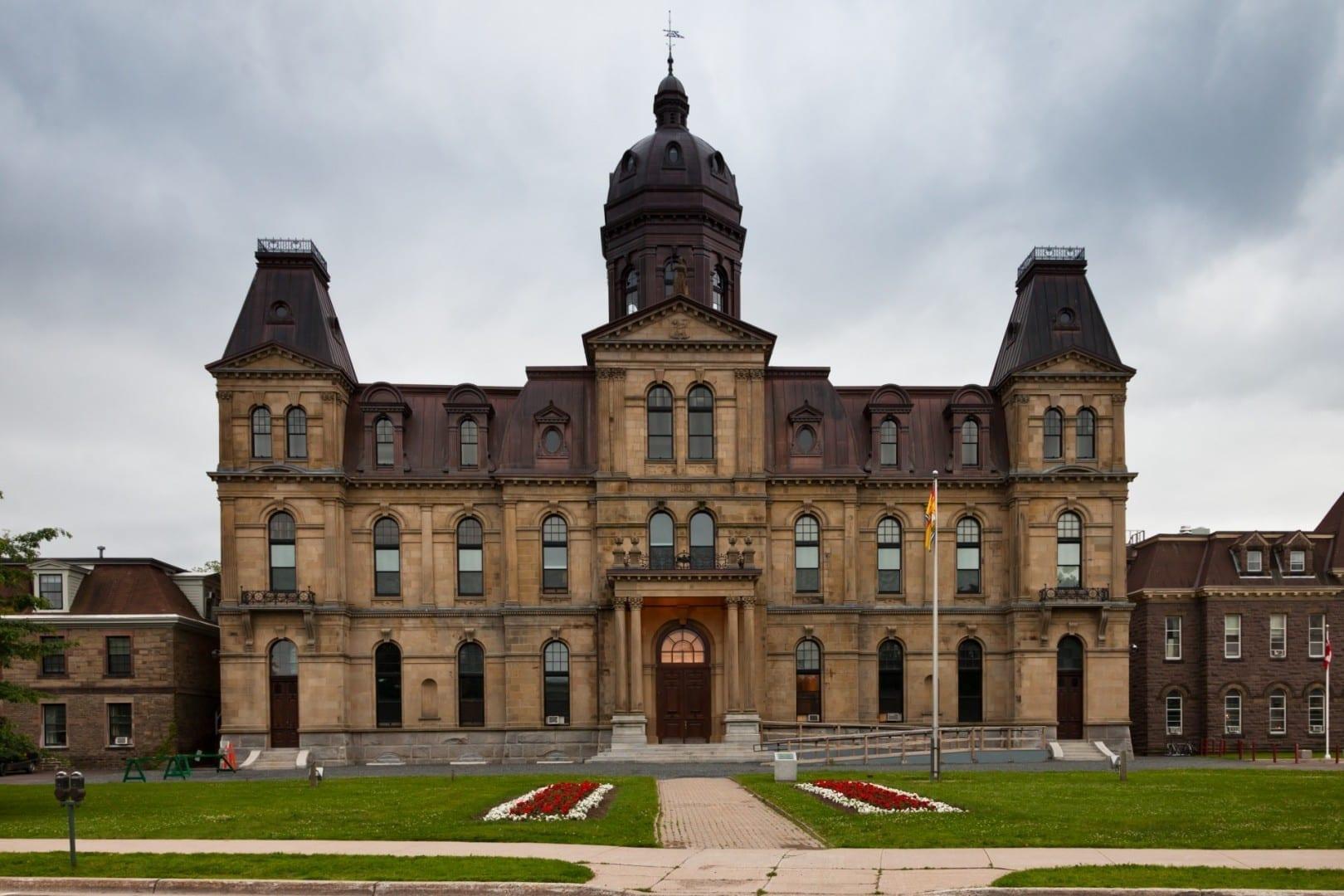Edificio Legislativo Fredericton Canadá