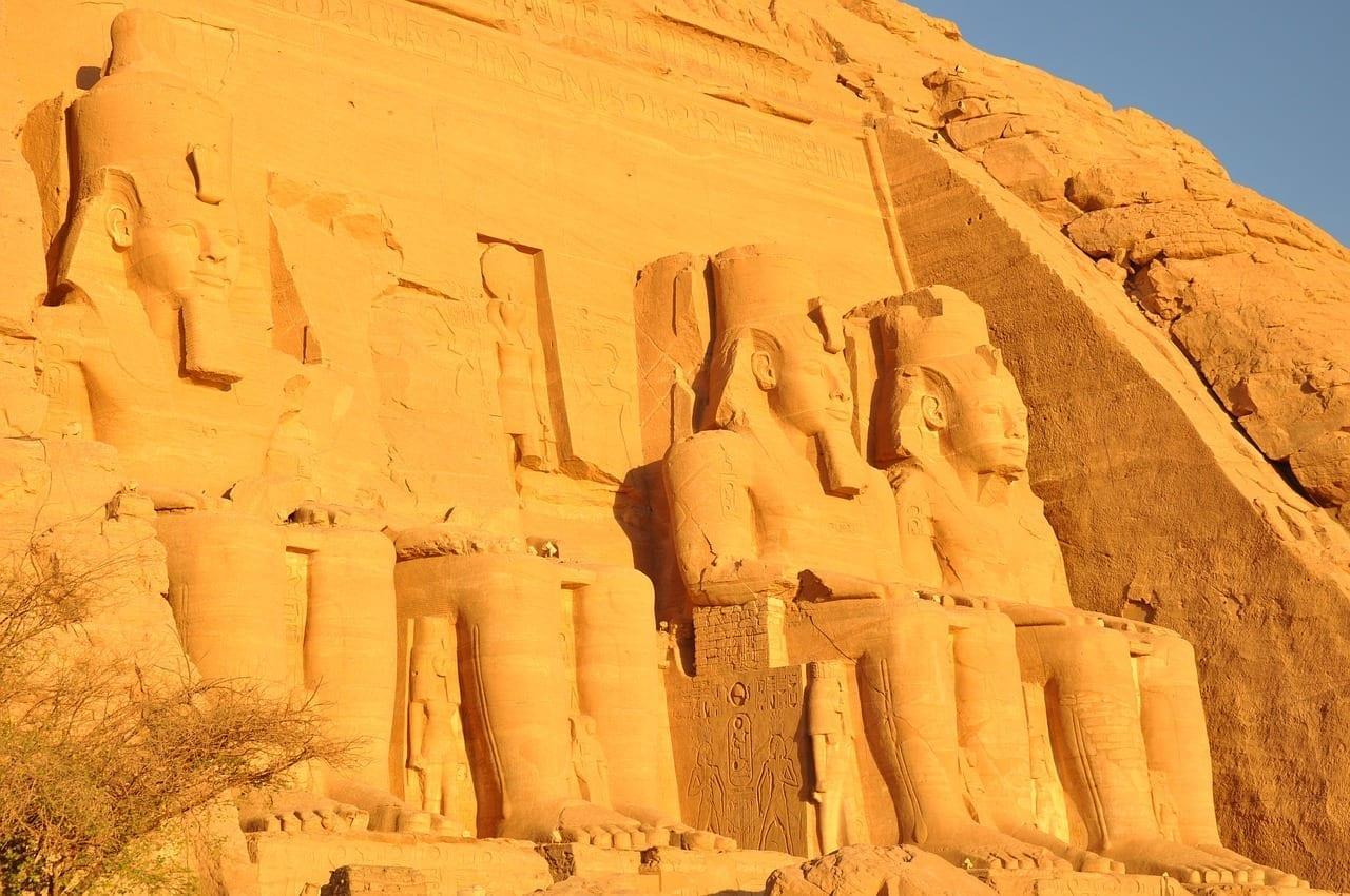 Egipto Abu Simbel Templo Egipto