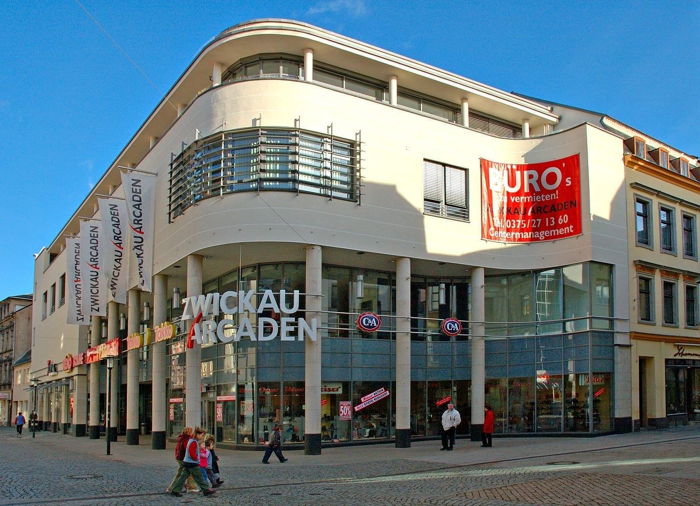 El Arcaden de Zwickau Zwickau Alemania