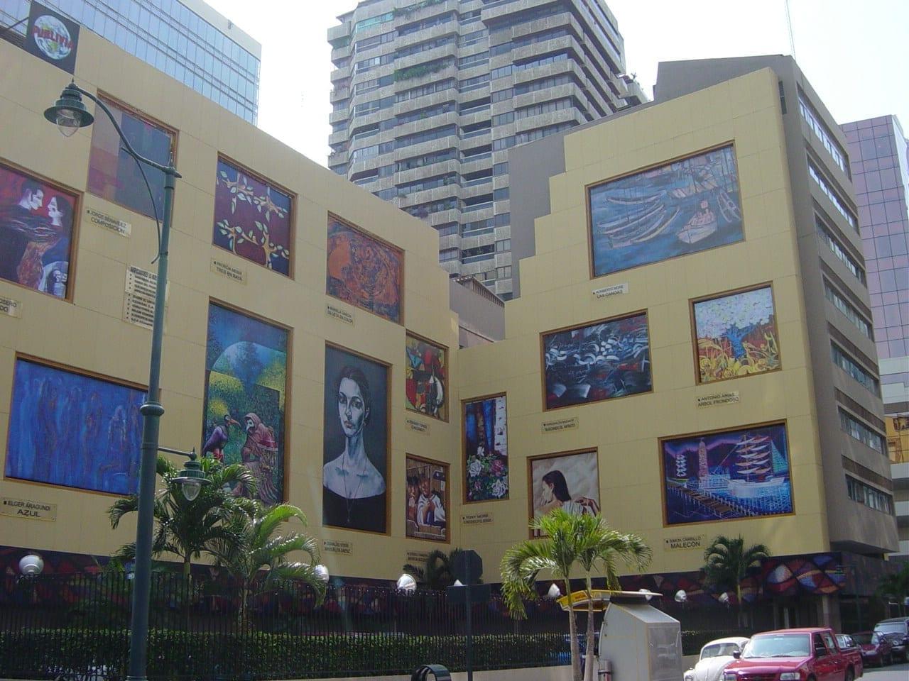 El arte en la ciudad Guayaquil Ecuador