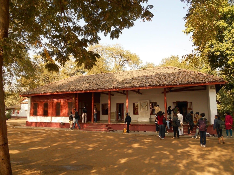 El Ashram de Gandhi Ahmedabad India