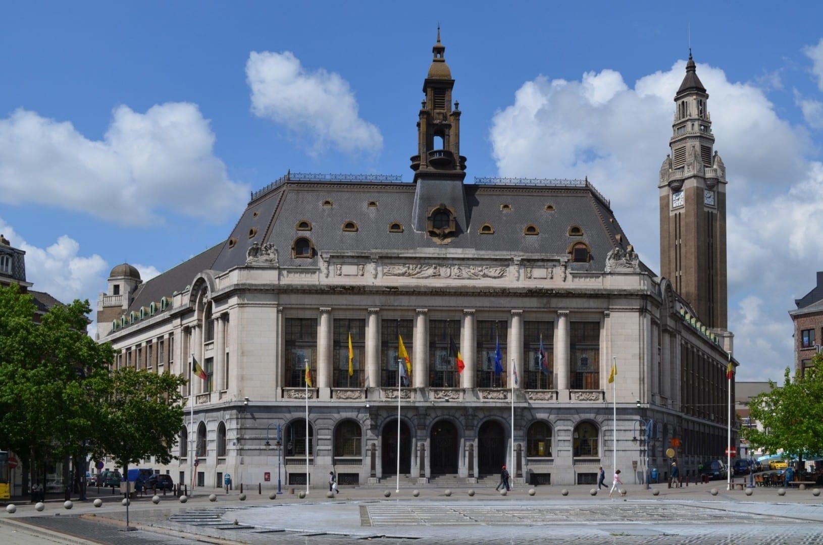 El ayuntamiento de Charleroi Charleroi Bélgica