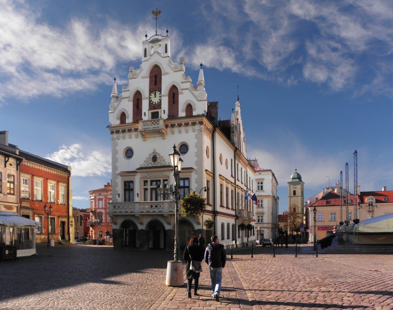 El Ayuntamiento de Rzeszów Rzeszów Polonia