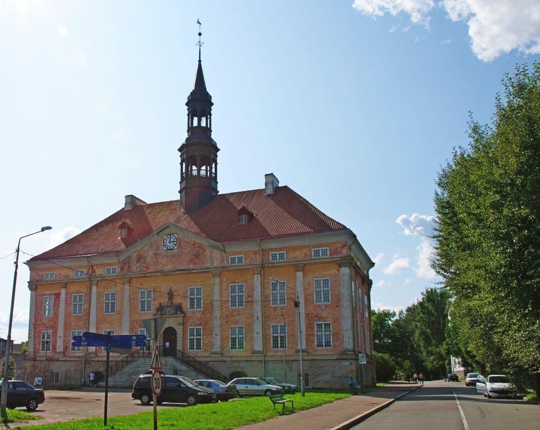 El ayuntamiento Narva Estonia