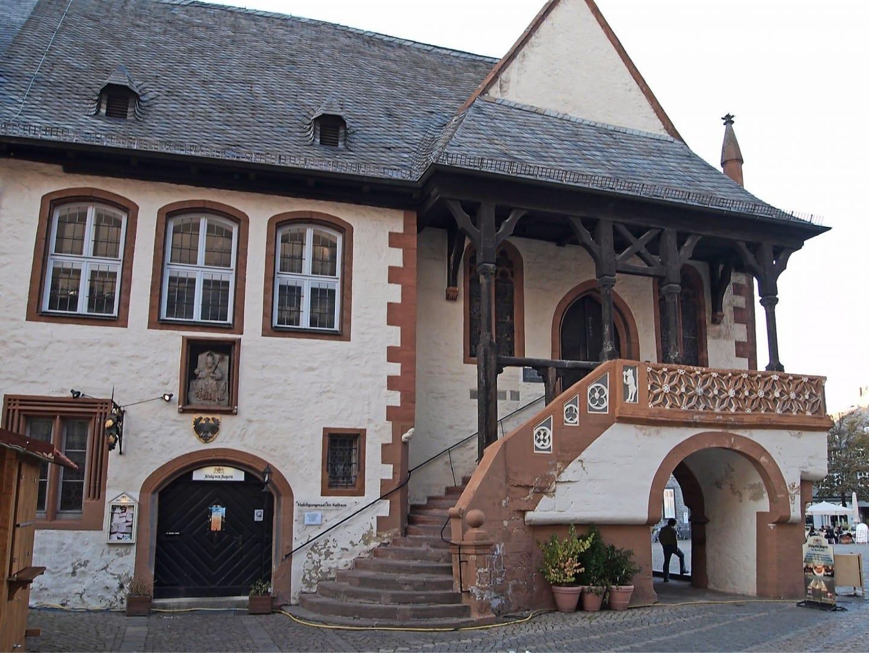 El Ayuntamiento (Rathaus) con la Sala de Homenaje Goslar Alemania