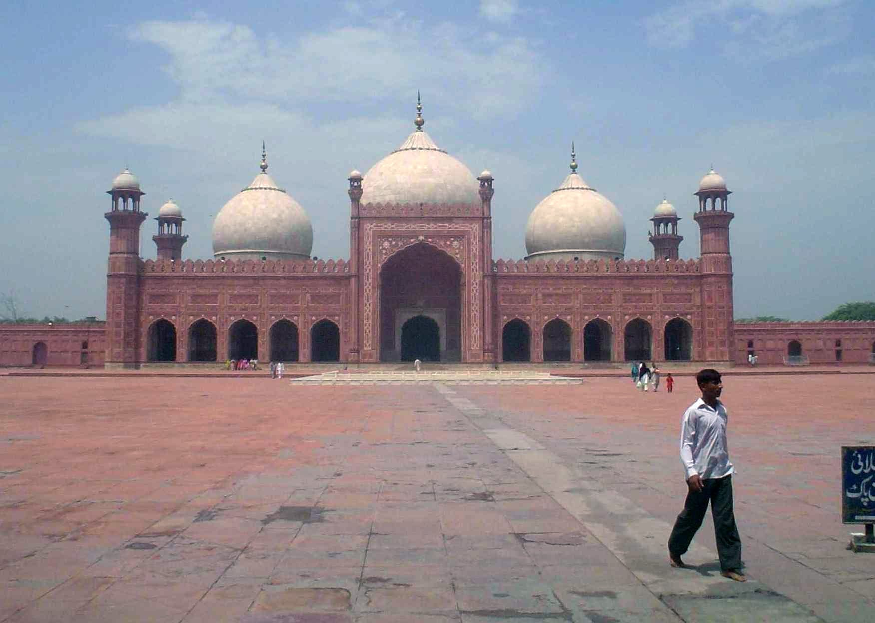 El Badshahi Masjid Lahore Pakistán
