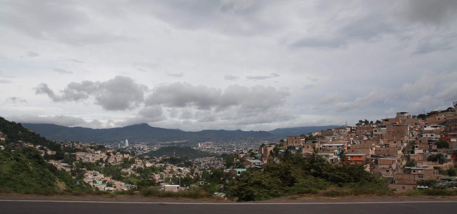 El barrio urbano de Tegucigalpa Tegucigalpa Honduras