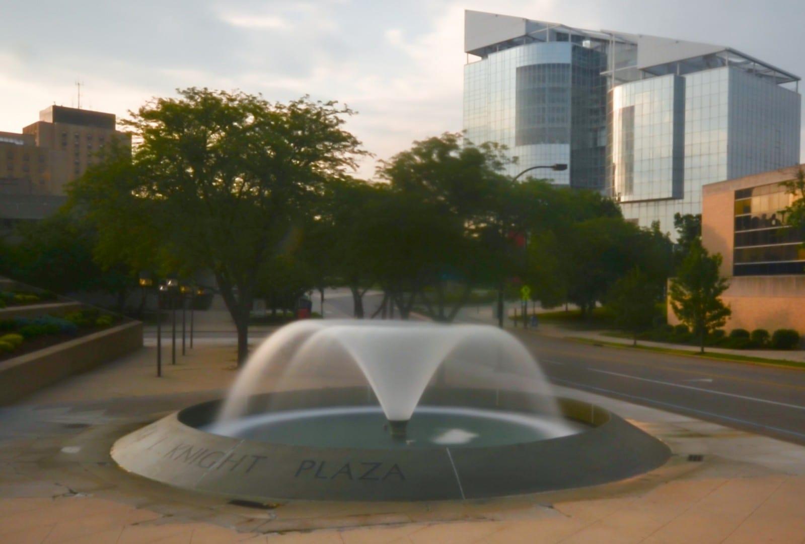 El campus de la Universidad de Akron Akron Estados Unidos