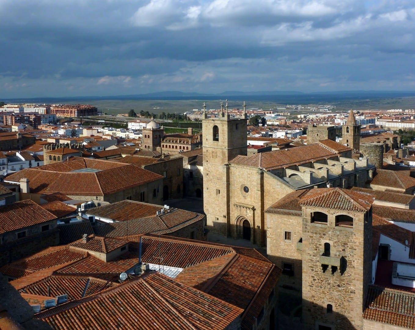 El casco antiguo de Cáceres Cáceres España