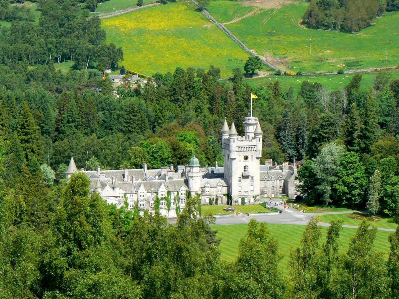 El castillo de Balmoral Cairngorms Parque Nacional Reino Unido