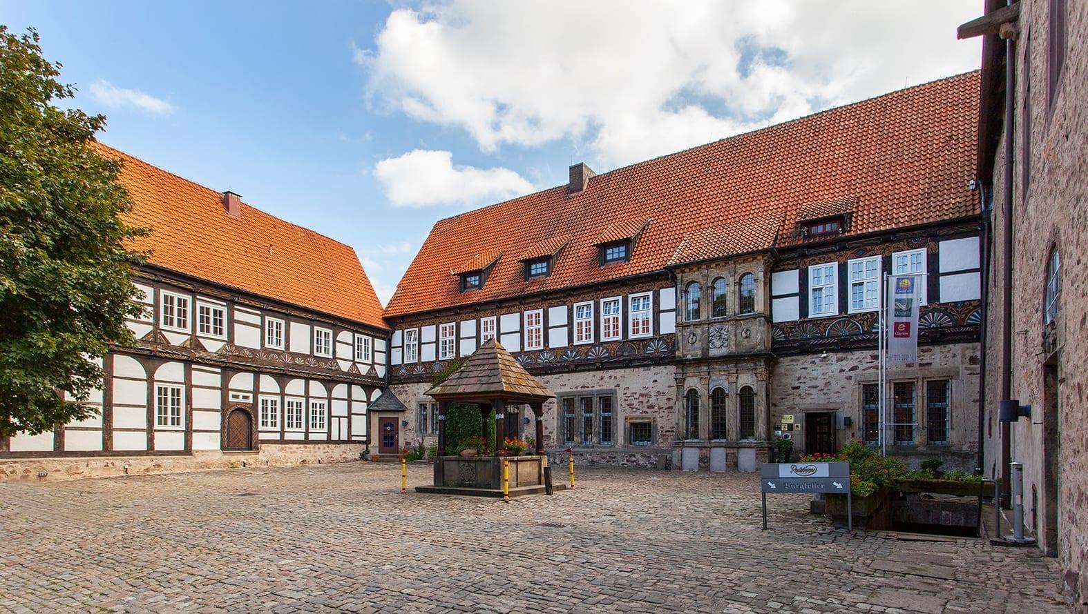 El castillo de Blomberg Detmold Alemania
