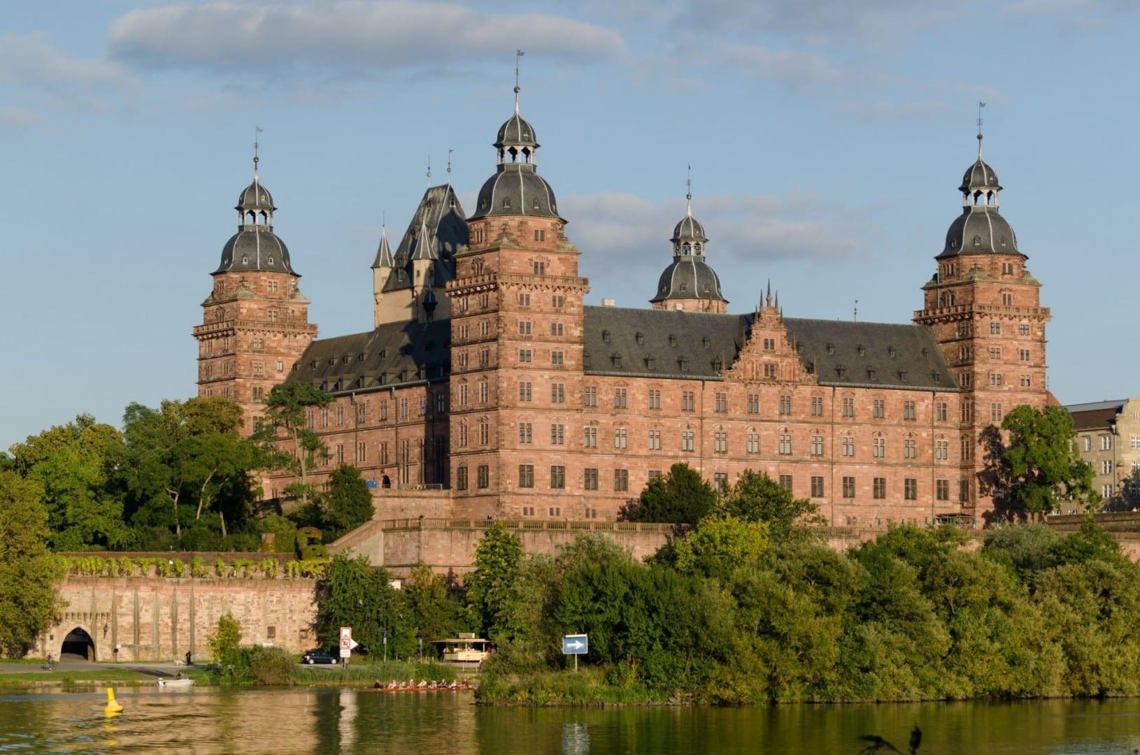 El castillo de Johannisburg Aschaffenburg Alemania