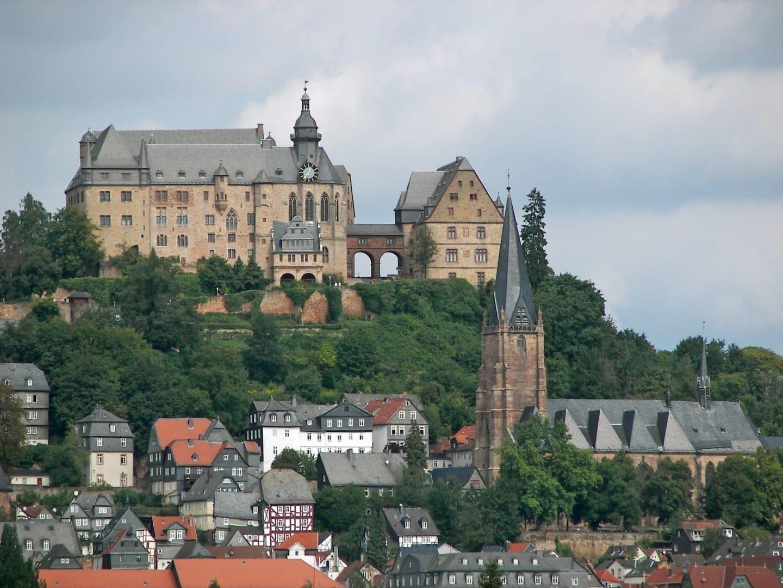 El castillo de Marburgo Marburg Alemania