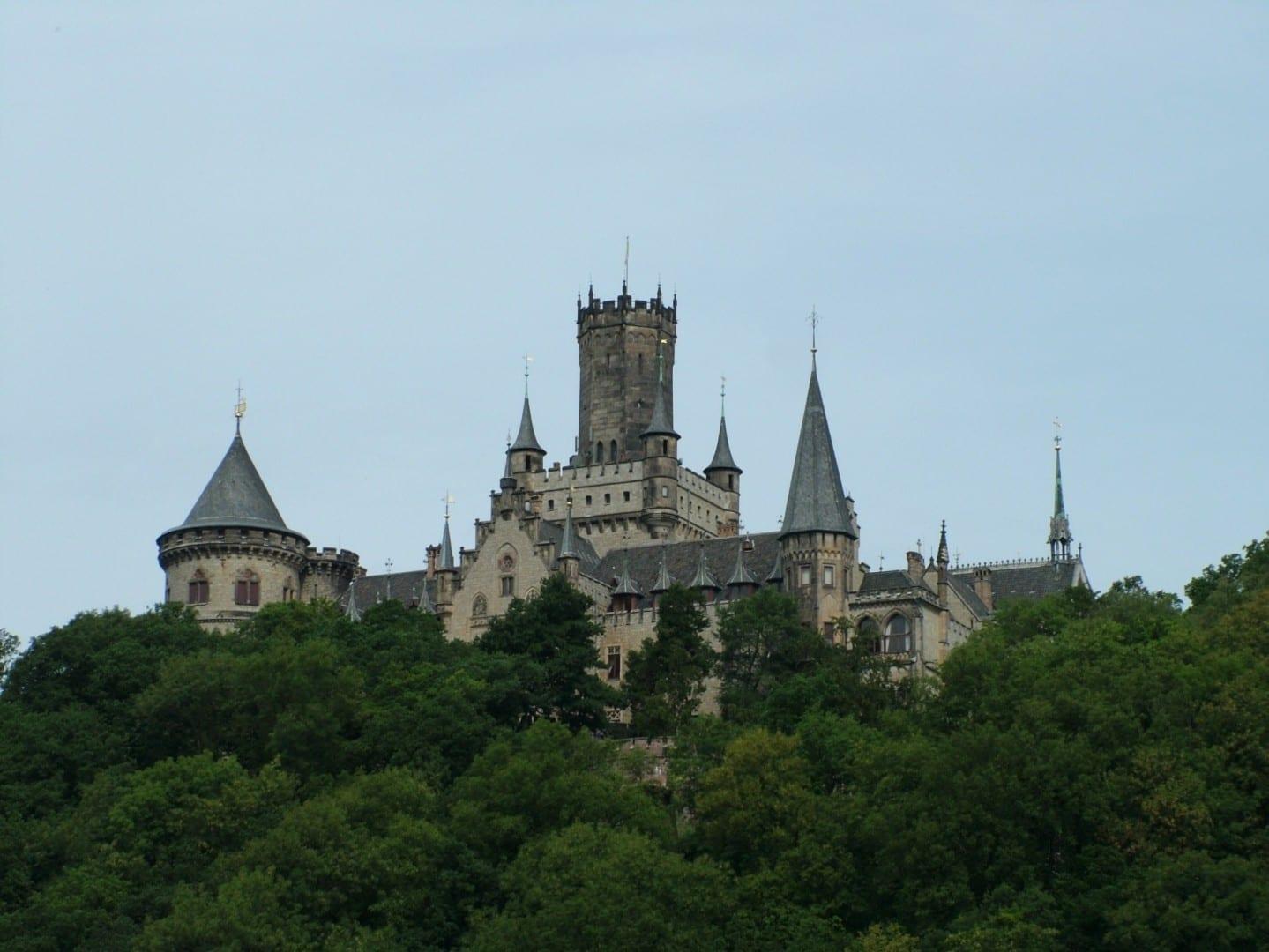 El castillo de Marienburg Hildesheim Alemania