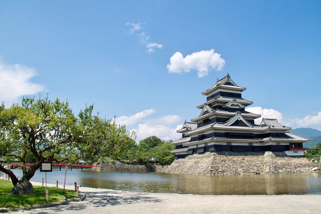 El Castillo De Matsumoto Matsumoto Japón Japón