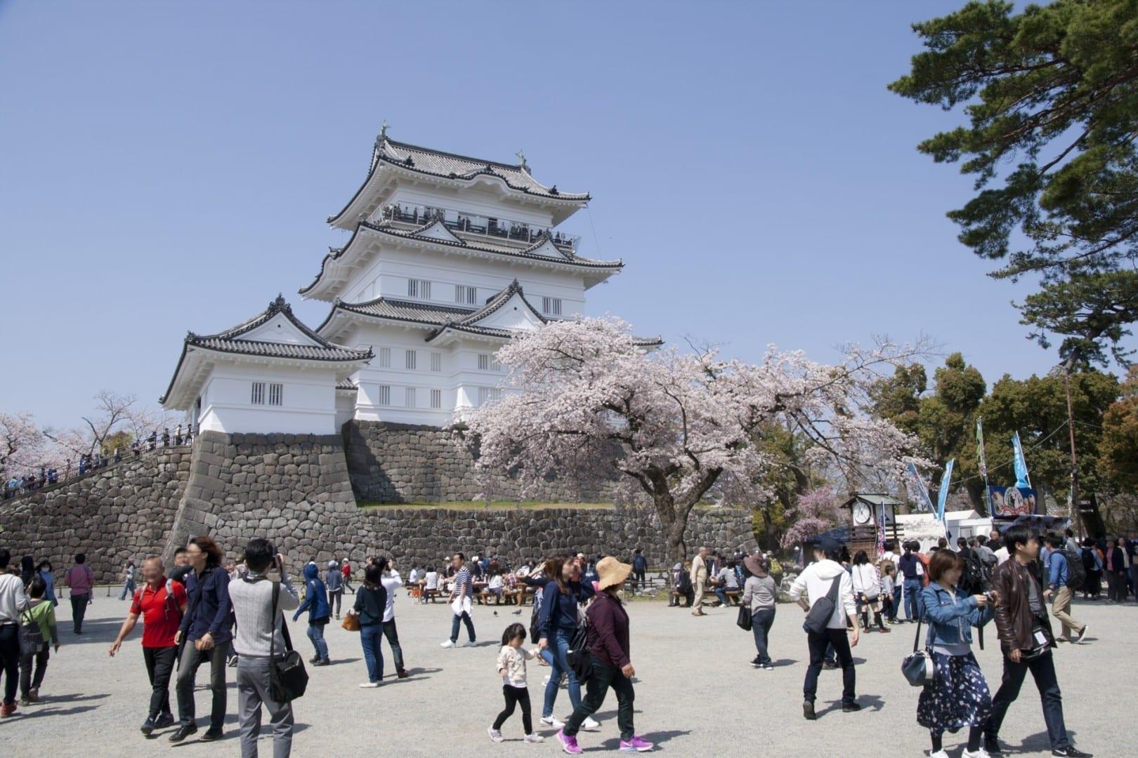 El castillo de Odawara Odawara Japón