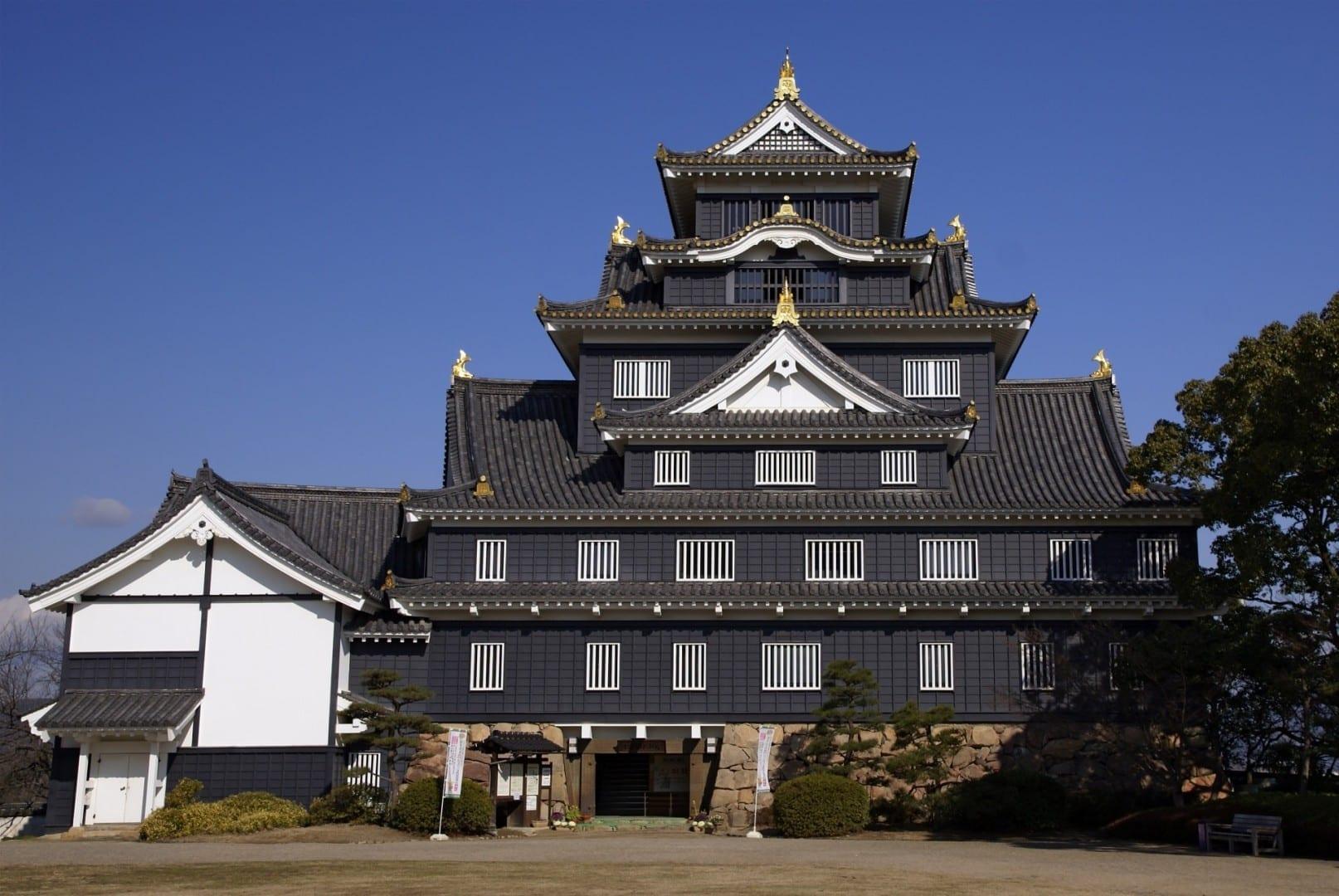 El castillo de Okayama Okayama Japón