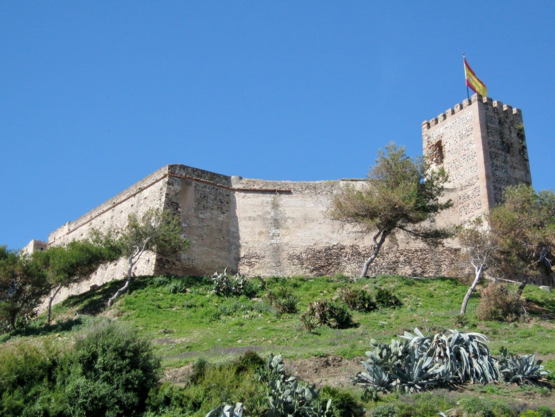 El castillo de Sohail Fuengirola España