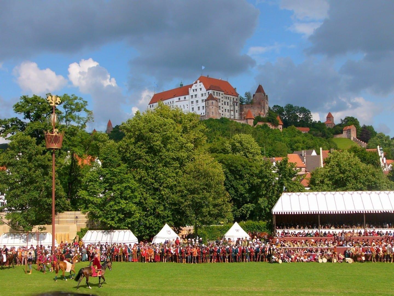 El castillo de Trausnitz Landshut Alemania