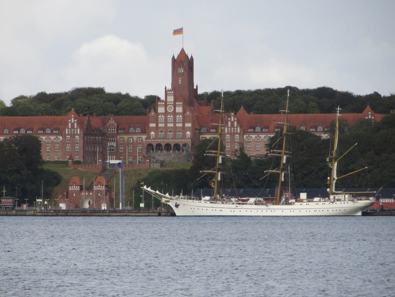 El Castillo Rojo fue construido en 1910 por Guillermo II. Flensburgo Alemania