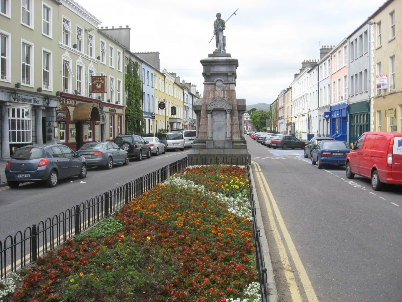 El centro de la ciudad de Tralee Tralee Irlanda