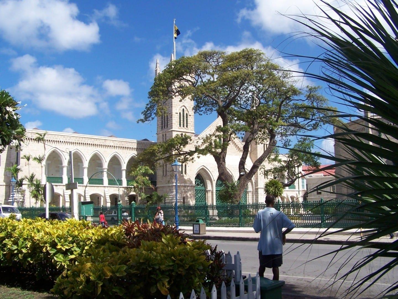 El edificio del Parlamento en Bridgetown Bridgetown Barbados