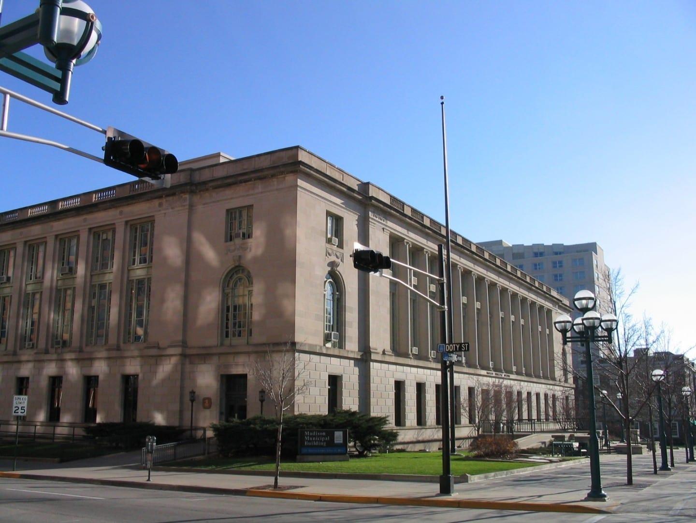El edificio municipal de Madison Madison (Winsconsin) Estados Unidos