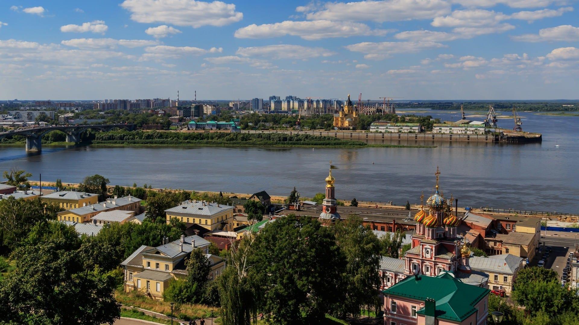 El escupitajo de Nizhny Novgorod Nizhny Novgorod Rusia