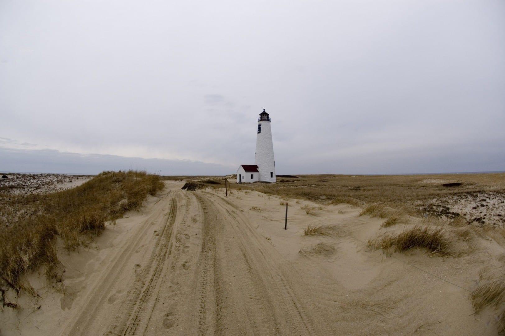 El faro de Great Point Nantucket MA Estados Unidos