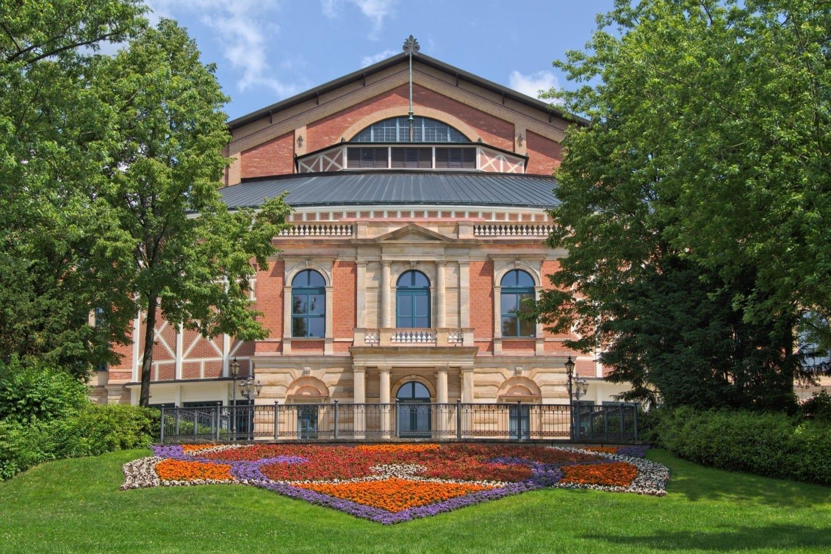 El Festival de Teatro de Richard Wagner (Festival Hall) en Bayreuth Bayreuth Alemania