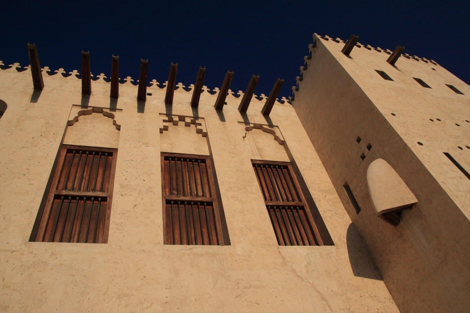 El fuerte de Al Hisn Sarja Emiratos Árabes Unidos