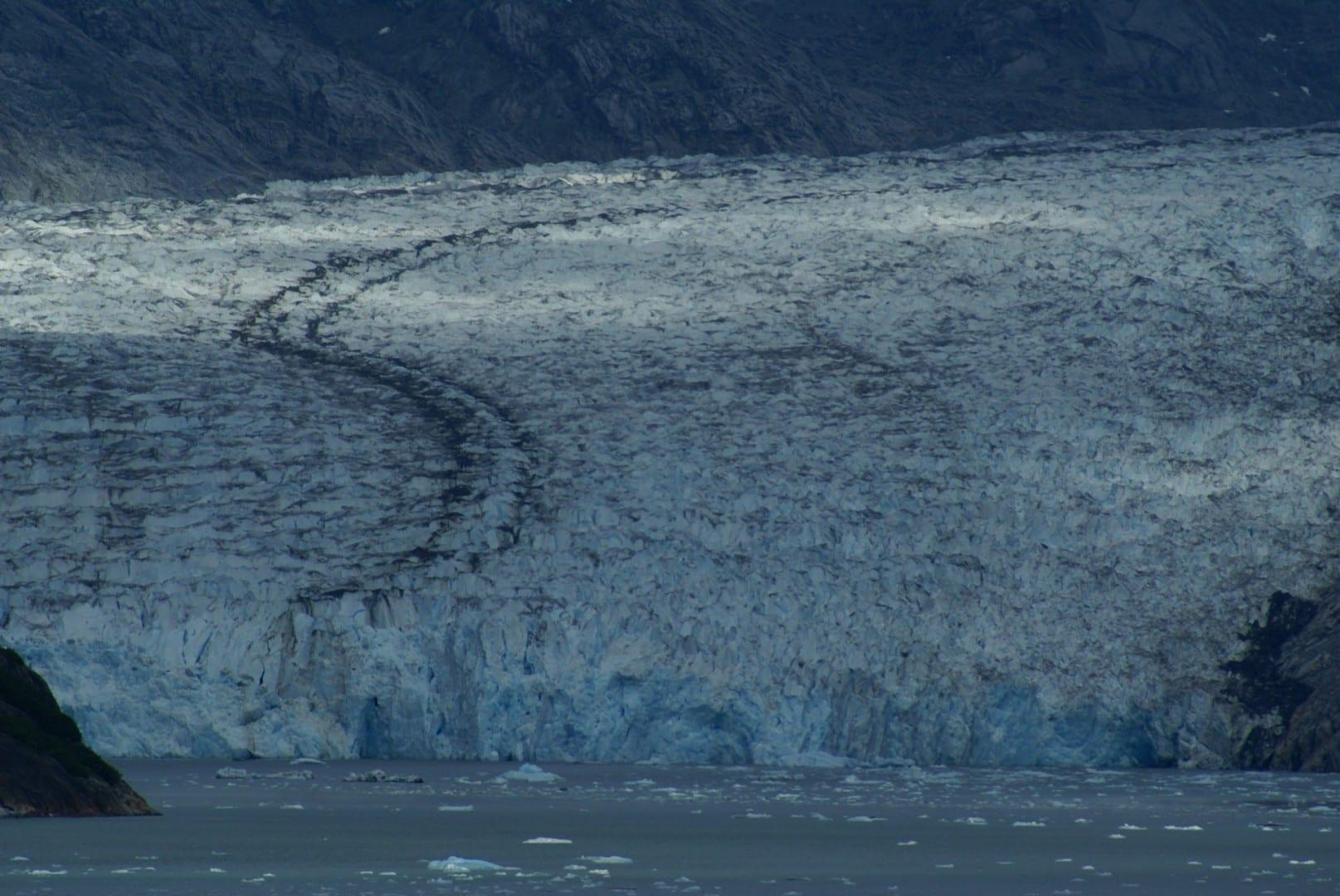 El glaciar Dawes a la cabeza del Endicott Arm, 2010 Juneau (Alaska) Estados Unidos