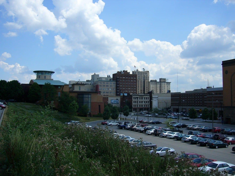 El horizonte de Youngstown Youngstown OH Estados Unidos