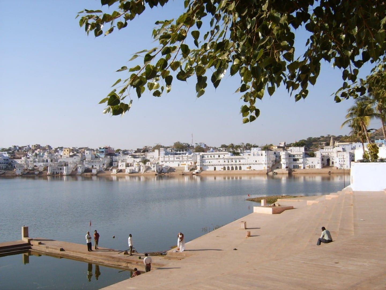 El lago en Pushkar Pushkar India
