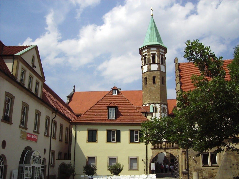 El ministro restaurado de los Caballeros Teutónicos en Heilbronn Heilbronn Alemania