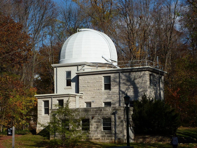 El Observatorio Kirkwood está abierto los miércoles por la noche. Bloomington IN Estados Unidos