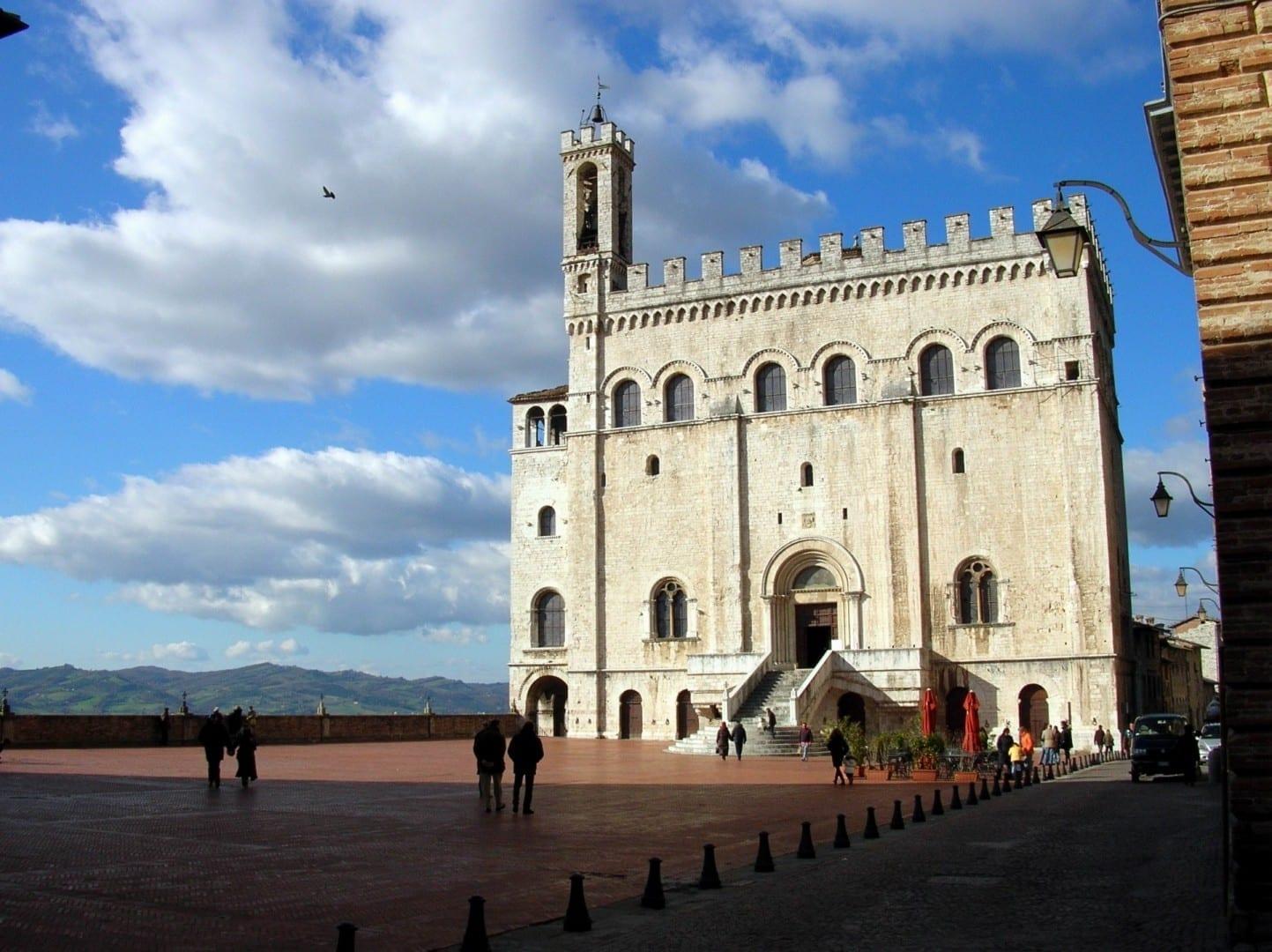 El Palacio de los Consoladores de Gubbio Gubbio Italia