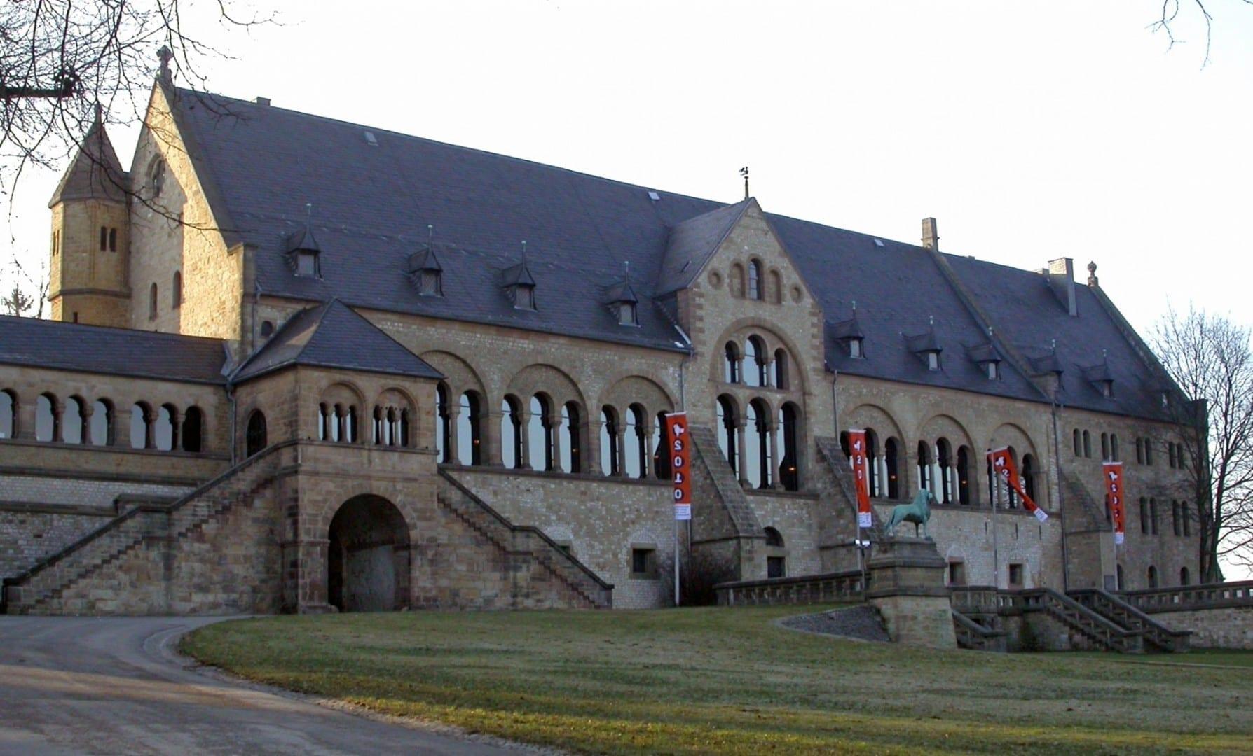El Palacio Imperial de Goslar Kaiserpfalz Goslar Alemania