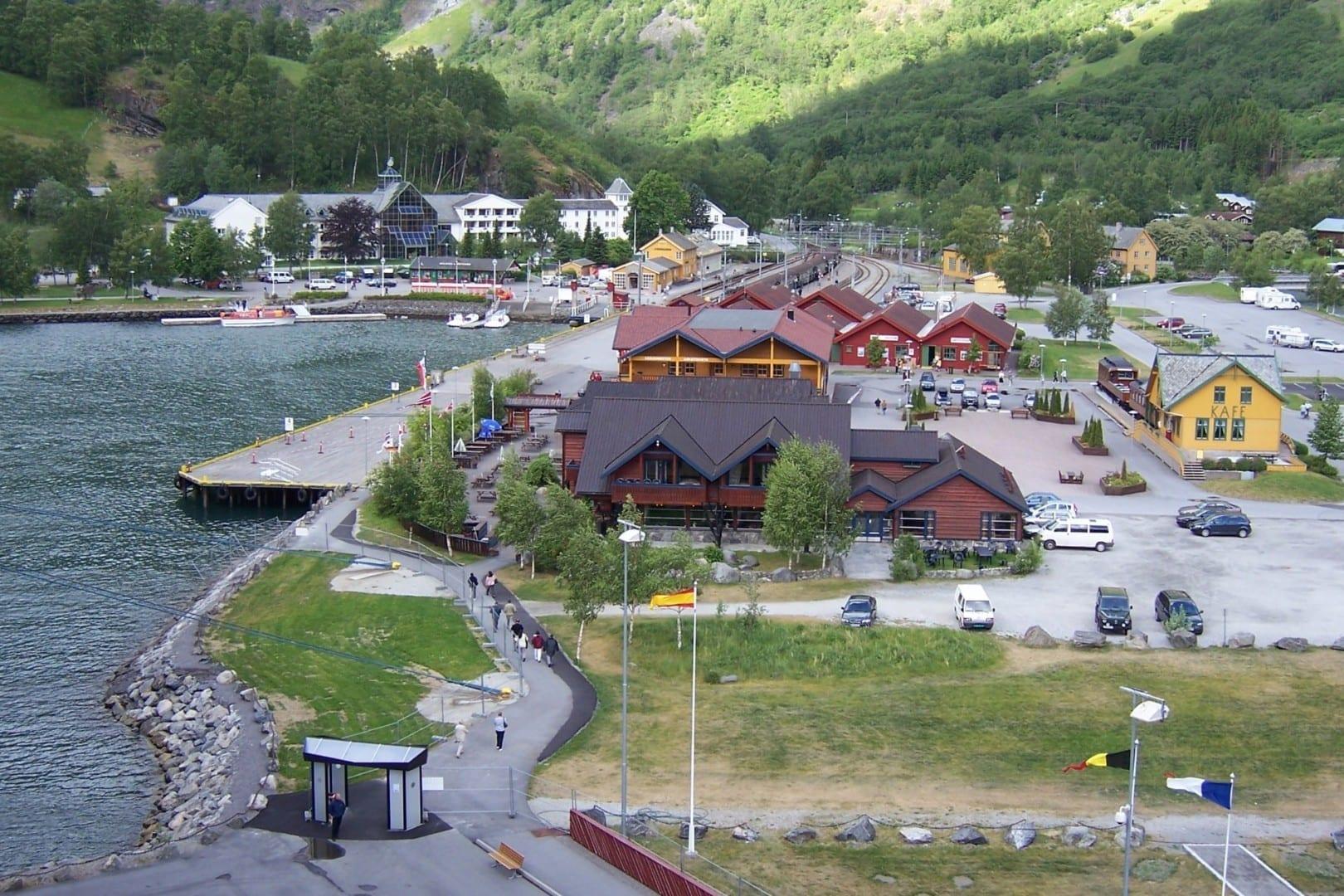 El pueblo de Flåm, 2006 Flam Noruega
